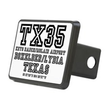 TEXAS - AIRPORT CODES - TX Hitch Cover