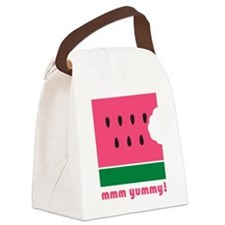 mmm yummy Canvas Lunch Bag