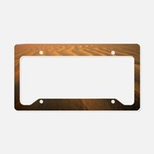Ripples in sand License Plate Holder