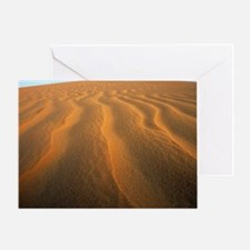 Ripples in sand Greeting Card