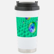 Quantum dots, artwork Stainless Steel Travel Mug