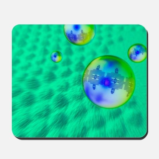 Quantum dots, artwork Mousepad