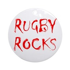 Rugby Nuts Ornament (Round)