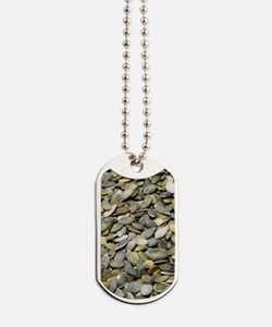 Pumpkin seeds Dog Tags