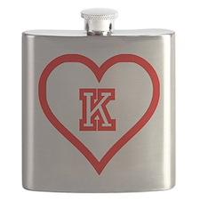 Kappa Sweetheart Flask
