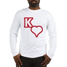 Kappa Sweetheart Outline Long Sleeve T-Shirt
