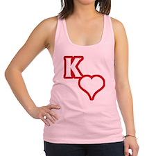 Kappa Sweetheart Outline Racerback Tank Top