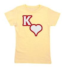 Kappa Sweetheart Outline Girl's Tee