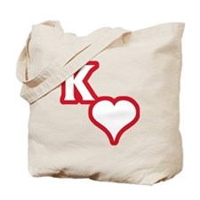 Kappa Sweetheart Outline Tote Bag