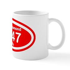 Kappa Diamond Oval Mug