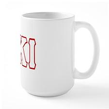KKI Greek Style Letters Mug