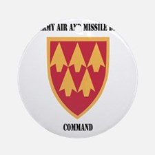 SSI - 32nd Army Air and Missile Def Round Ornament