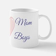 Loving Mom of Boys Mug