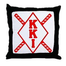KKI Staffs Throw Pillow