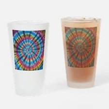 Tie Dye Drinking Glass