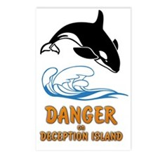 Danger on Deception Islan Postcards (Package of 8)