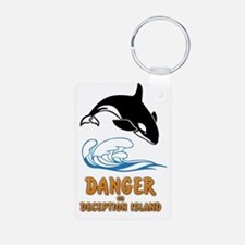 Danger on Deception Island Keychains