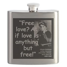 Goldman Love Quote 2 Flask