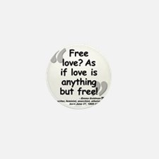 Goldman Love Quote Mini Button