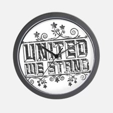 United We Stand Wall Clock