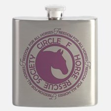 Circle of Freedom violet Flask