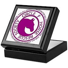 Circle of Freedom violet Keepsake Box
