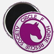 Circle of Freedom violet Magnet