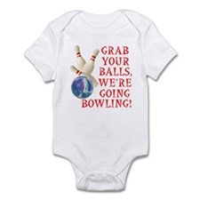 Bowling Stuff Infant Bodysuit