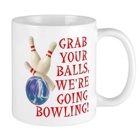 Bowling Stuff Mug