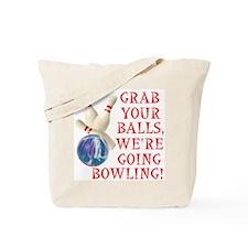Bowling Stuff Tote Bag