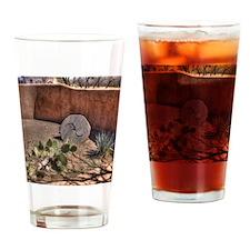 Stone Grinding Wheel Drinking Glass