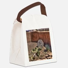 Stone Grinding Wheel Canvas Lunch Bag