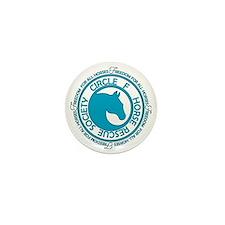 Circle F Horse Rescue Society Mini Button