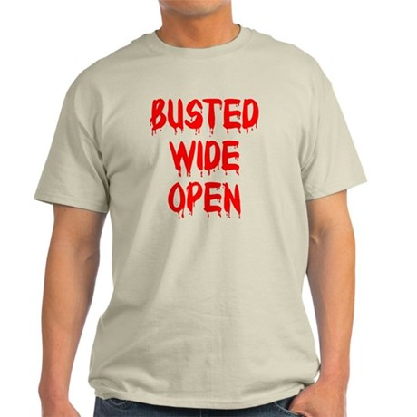 Busted Wide Open Light T-Shirt