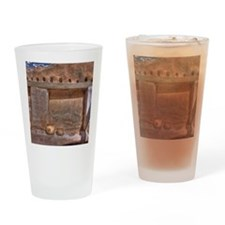 Pima Indian Pottery Artifacts Drinking Glass