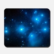 Pleiades star cluster (M45) Mousepad