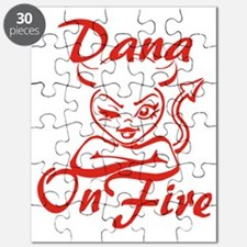 Dana On Fire Puzzle