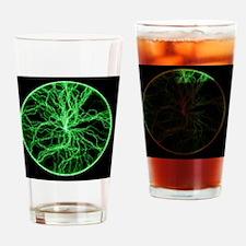 Plasma disc Drinking Glass