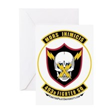493rd Fighter Squadron Greeting Card