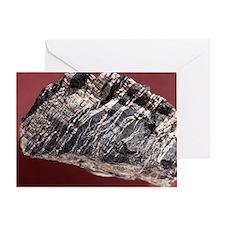 White asbestos Greeting Card
