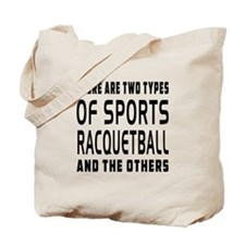 Racquetball Designs Tote Bag