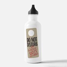 Do Not Disturb Water Bottle