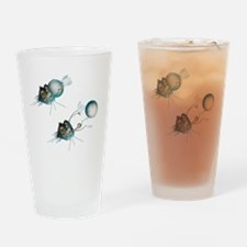 Vostok 1 capsule separation, artwor Drinking Glass
