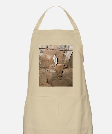 water-powered flour mill Apron