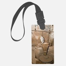 water-powered flour mill Luggage Tag