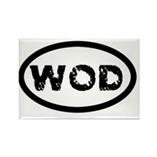 WOD Rectangle Magnet