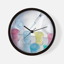 Pipetting Wall Clock