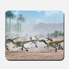Velociraptor dinosaurs Mousepad