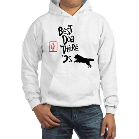 Belgian Tervuren Hooded Sweatshirt
