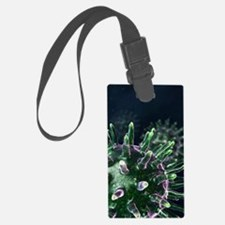 Virus particles, artwork Luggage Tag